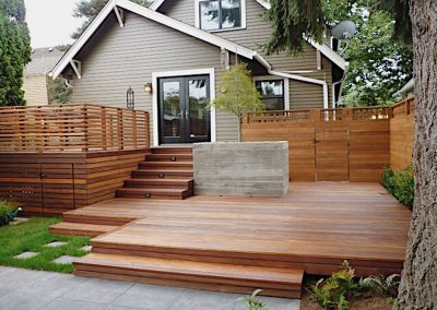West Vancouver Deck Construction